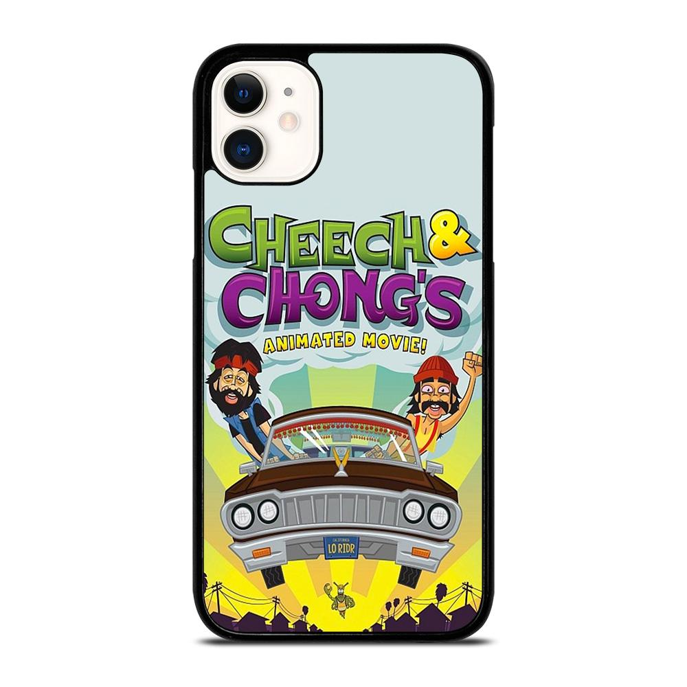 coque custodia cover fundas iphone 11 pro max 5 6 7 8 plus x xs xr se2020 C13478 CHEECH AND CHONG ANIMATED MOVIE iPhone 11 Case