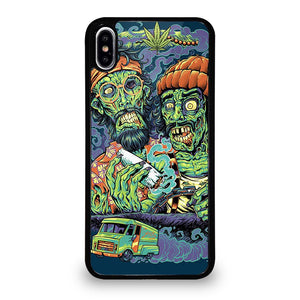 coque custodia cover fundas iphone 11 pro max 5 6 7 8 plus x xs xr se2020 C13521 CHEECH AND CHONG MARIJUANA ZOMBIE iPhone XS Max Case