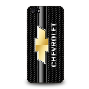 CHEVY CHEVROLET LOGO CARBON Cover iPhone 5 / 5S / SE