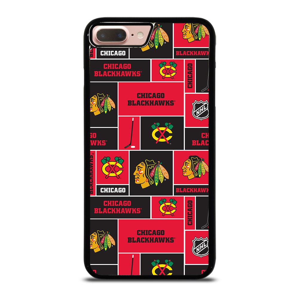 coque custodia cover fundas iphone 11 pro max 5 6 7 8 plus x xs xr se2020 C13869 CHICAGO BLACKHAWKS NHL HOCKEY iPhone 7 / 8 Plus Case