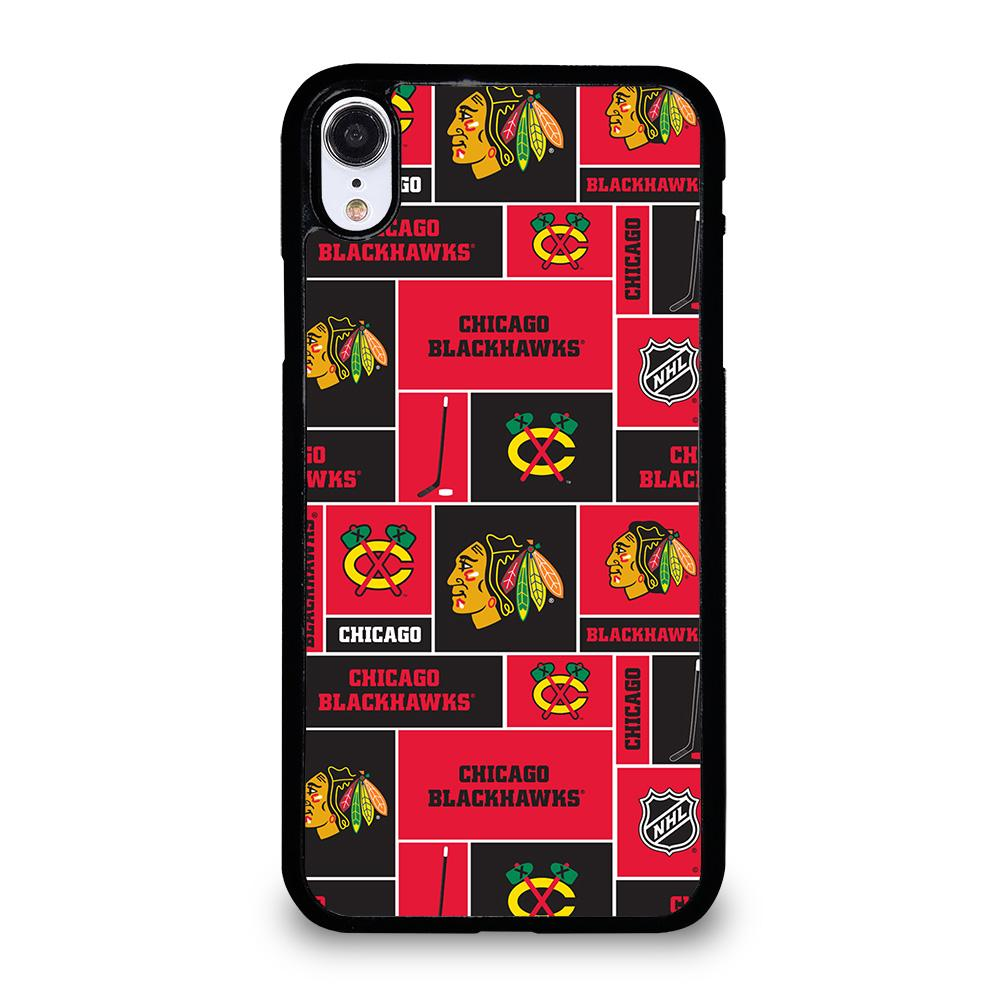 coque custodia cover fundas iphone 11 pro max 5 6 7 8 plus x xs xr se2020 C13871 CHICAGO BLACKHAWKS NHL HOCKEY iPhone XR Case