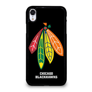 coque custodia cover fundas iphone 11 pro max 5 6 7 8 plus x xs xr se2020 C13848 CHICAGO BLACKHAWKS NHL HOCKEY #5 iPhone XR Case