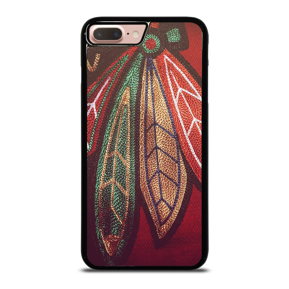 coque custodia cover fundas iphone 11 pro max 5 6 7 8 plus x xs xr se2020 C13854 CHICAGO BLACKHAWKS NHL HOCKEY #6 iPhone 7 / 8 Plus Case