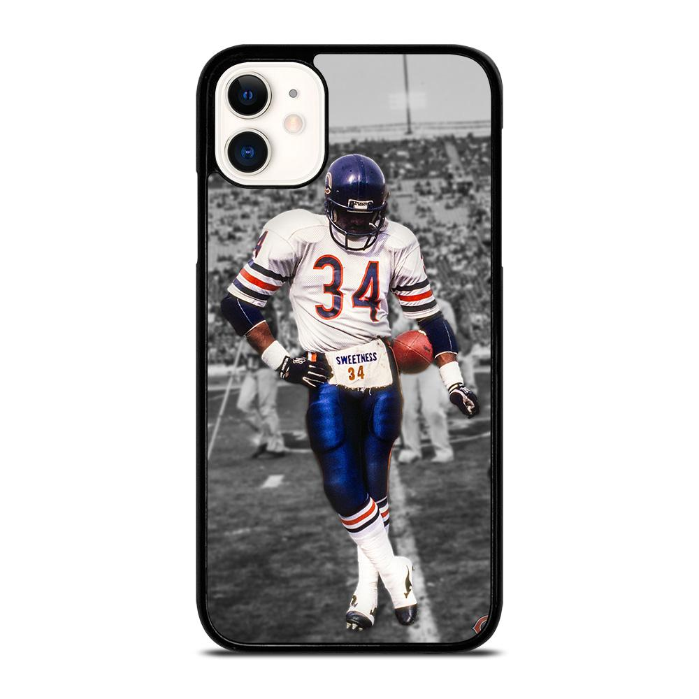 coque custodia cover fundas iphone 11 pro max 5 6 7 8 plus x xs xr se2020 C13761 CHICAGO BEARS WALTER PAYTON 34 iPhone 11 Case