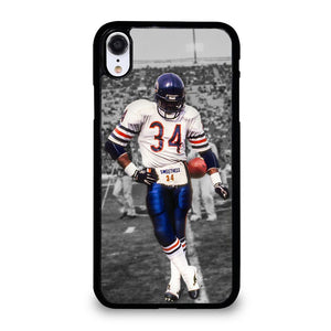 coque custodia cover fundas iphone 11 pro max 5 6 7 8 plus x xs xr se2020 C13769 CHICAGO BEARS WALTER PAYTON 34 iPhone XR Case