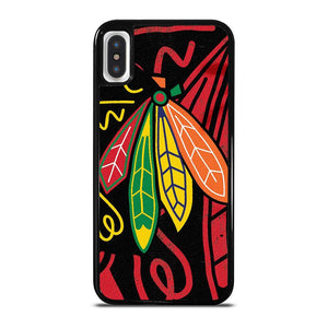 coque custodia cover fundas iphone 11 pro max 5 6 7 8 plus x xs xr se2020 C13839 CHICAGO BLACKHAWKS NHL HOCKEY #2 iPhone X / XS Case