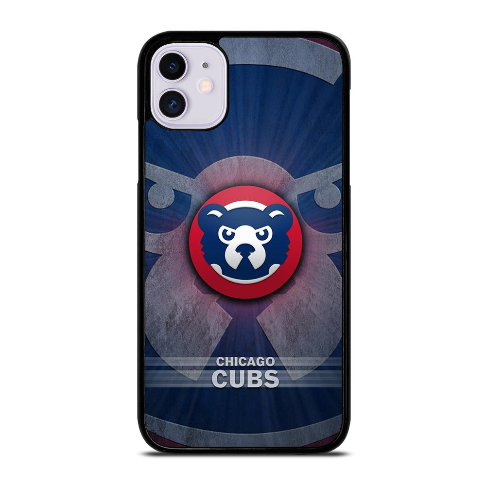 coque custodia cover fundas iphone 11 pro max 5 6 7 8 plus x xs xr se2020 C13873 CHICAGO CUBS #5 iPhone 11 Case
