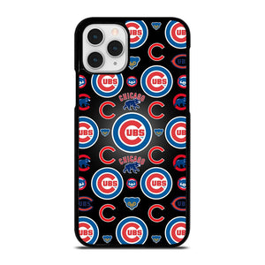 coque custodia cover fundas iphone 11 pro max 5 6 7 8 plus x xs xr se2020 C13906 CHICAGO CUBS COLLAGE LOGO iPhone 11 Pro Case