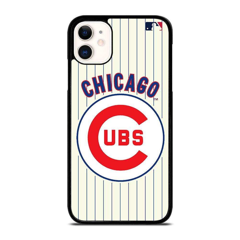 coque custodia cover fundas iphone 11 pro max 5 6 7 8 plus x xs xr se2020 C13934 CHICAGO CUBS MLB iPhone 11 Case