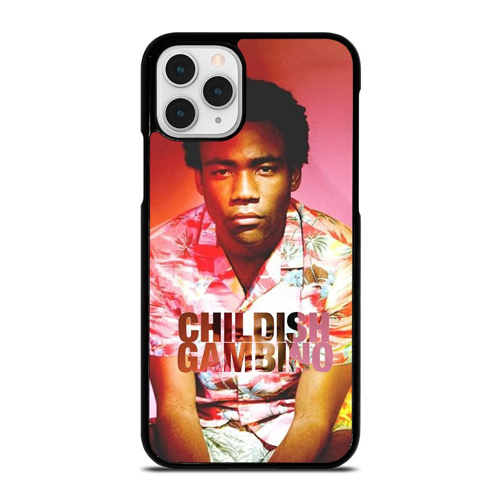 coque custodia cover fundas iphone 11 pro max 5 6 7 8 plus x xs xr se2020 C13966 CHILDISH GAMBINO iPhone 11 Pro Case