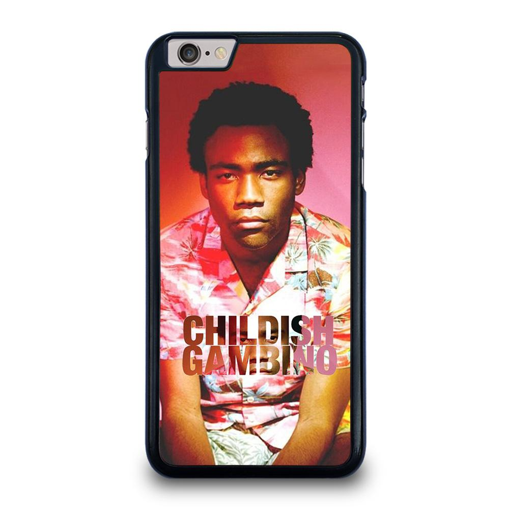 coque custodia cover fundas iphone 11 pro max 5 6 7 8 plus x xs xr se2020 C13970 CHILDISH GAMBINO iPhone 6 / 6S Plus Case