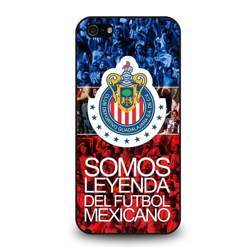 CHIVAS DE GUADALAJARA Somos Leyenda Cover iPhone 5 / 5S / SE - Negozio di custodie per Iphone|samsung|huawei custodia4cover.it