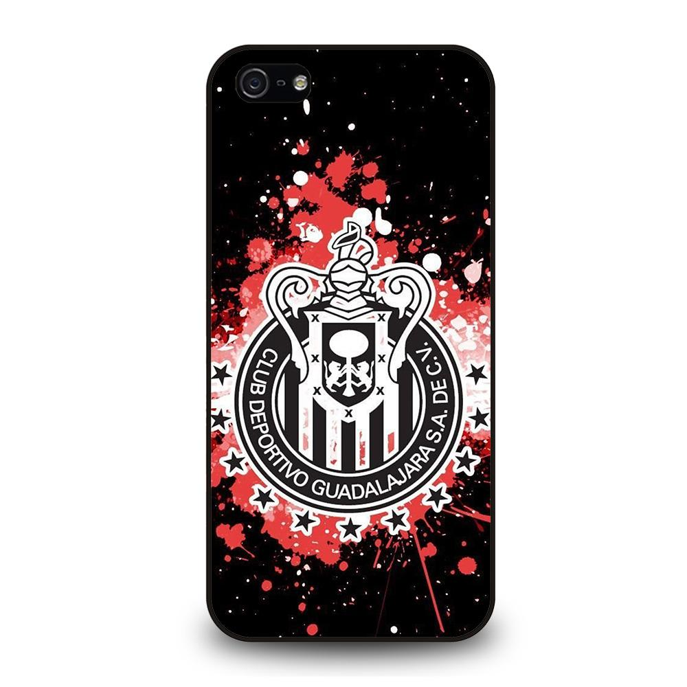 CHIVAS GUADALAJARA FC LOGO ART Cover iPhone 5 / 5S / SE