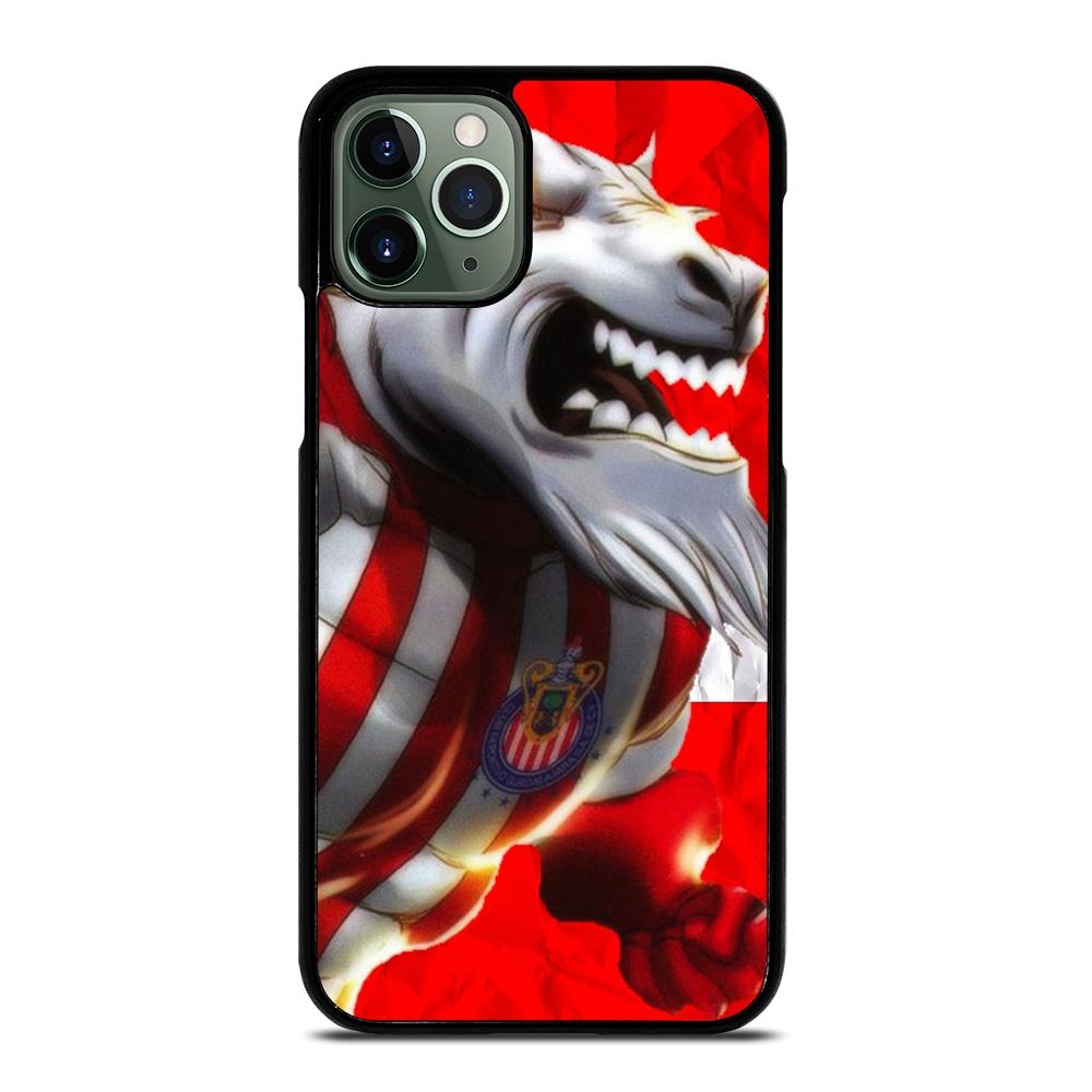 coque custodia cover fundas iphone 11 pro max 5 6 7 8 plus x xs xr se2020 C14087 CHIVAS DE GUADALAJARA iPhone 11 Pro Max Case