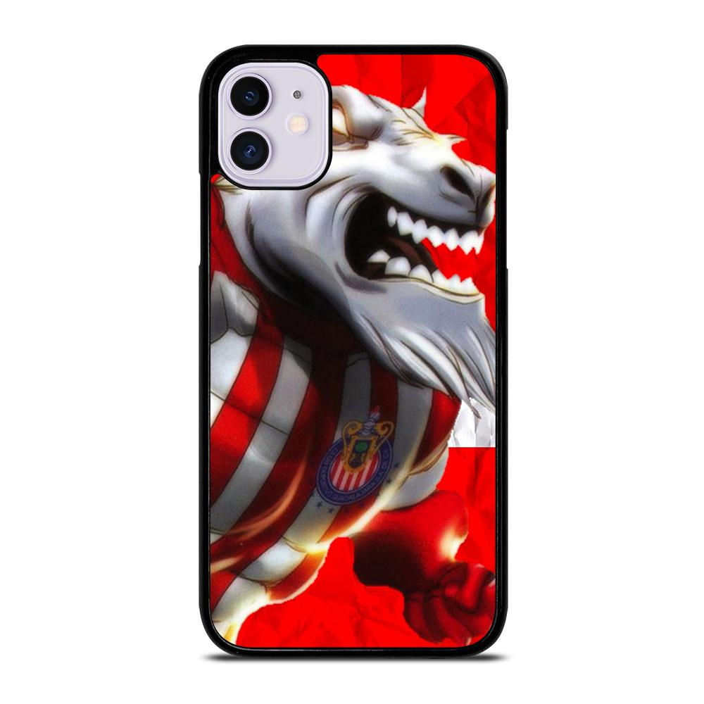 coque custodia cover fundas iphone 11 pro max 5 6 7 8 plus x xs xr se2020 C14085 CHIVAS DE GUADALAJARA iPhone 11 Case
