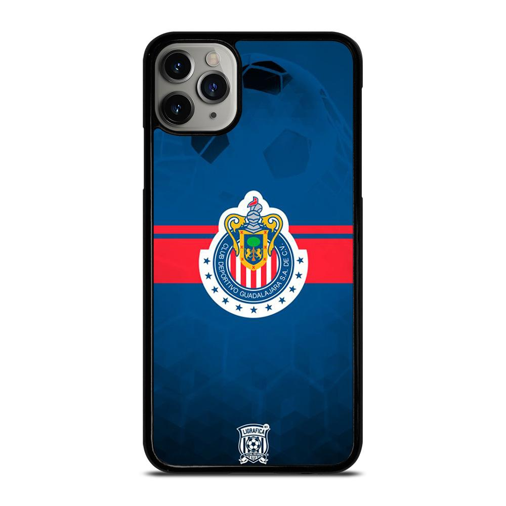 coque custodia cover fundas iphone 11 pro max 5 6 7 8 plus x xs xr se2020 C14043 CHIVAS DE GUADALAJARA #4 iPhone 11 Pro Max Case