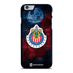 coque custodia cover fundas iphone 11 pro max 5 6 7 8 plus x xs xr se2020 C14056 CHIVAS DE GUADALAJARA #8 iPhone 6 / 6S Case
