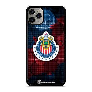 coque custodia cover fundas iphone 11 pro max 5 6 7 8 plus x xs xr se2020 C14054 CHIVAS DE GUADALAJARA #8 iPhone 11 Pro Max Case