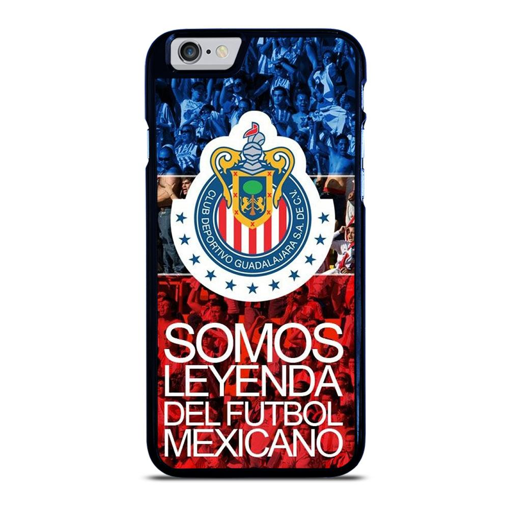 coque custodia cover fundas iphone 11 pro max 5 6 7 8 plus x xs xr se2020 C14067 CHIVAS DE GUADALAJARA #9 iPhone 6 / 6S Case