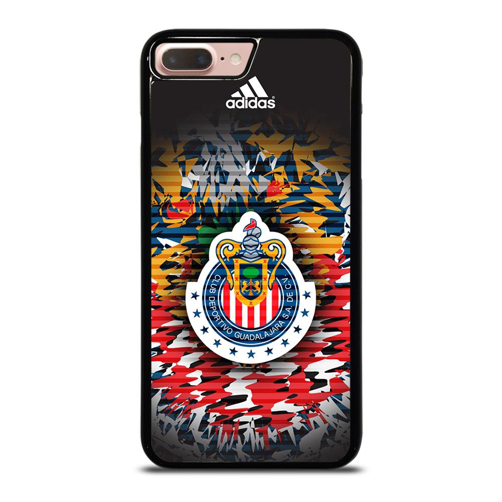 coque custodia cover fundas iphone 11 pro max 5 6 7 8 plus x xs xr se2020 C14081 CHIVAS DE GUADALAJARA COLOR iPhone 7 / 8 Plus Case