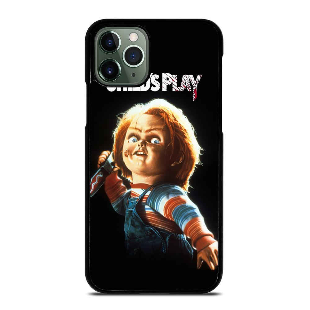 coque custodia cover fundas iphone 11 pro max 5 6 7 8 plus x xs xr se2020 C14145 CHUCKY CHILD'S PLAY #2 iPhone 11 Pro Max Case