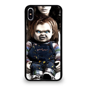 coque custodia cover fundas iphone 11 pro max 5 6 7 8 plus x xs xr se2020 C14204 CHUCKY SCARY DOLL 2 iPhone XS Max Case