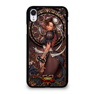 coque custodia cover fundas iphone 11 pro max 5 6 7 8 plus x xs xr se2020 C14233 CHUN LI STREET FIGHTER 2 iPhone XR Case