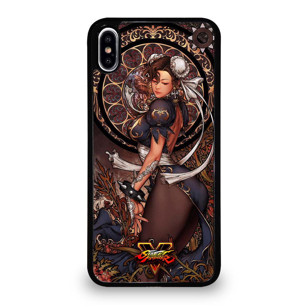 coque custodia cover fundas iphone 11 pro max 5 6 7 8 plus x xs xr se2020 C14234 CHUN LI STREET FIGHTER 2 iPhone XS Max Case