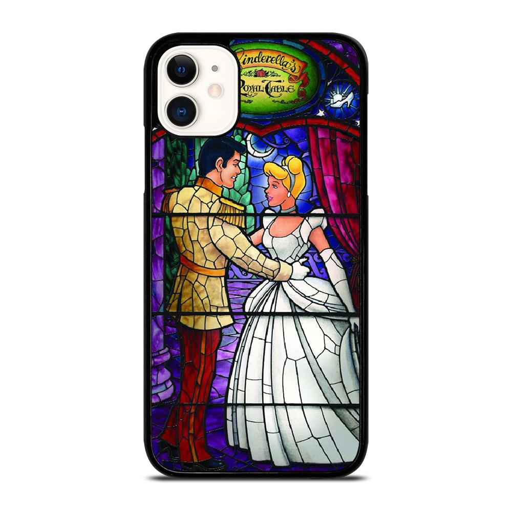 coque custodia cover fundas iphone 11 pro max 5 6 7 8 plus x xs xr se2020 C14266 CINDERELLA ART GLASSES iPhone 11 Case