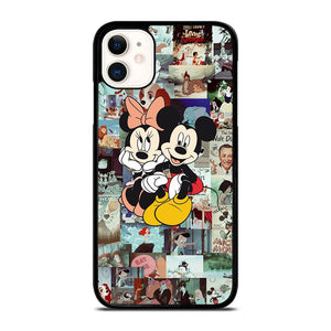 coque custodia cover fundas iphone 11 pro max 5 6 7 8 plus x xs xr se2020 C14277 CLASSIC MICKEY AND MINNIE MOUSE #1 iPhone 11 Case
