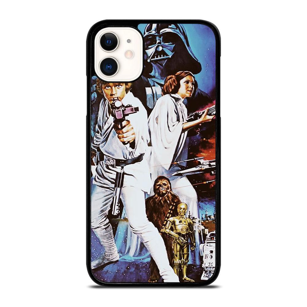 coque custodia cover fundas iphone 11 pro max 5 6 7 8 plus x xs xr se2020 C14298 CLASSIC STAR WARS iPhone 11 Case