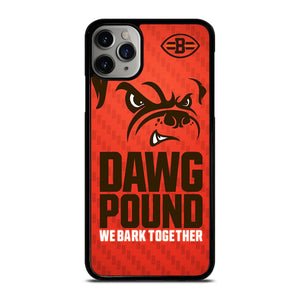 coque custodia cover fundas iphone 11 pro max 5 6 7 8 plus x xs xr se2020 C14375 CLEVELAND BROWNS DAWG POUND NFL iPhone 11 Pro Max Case
