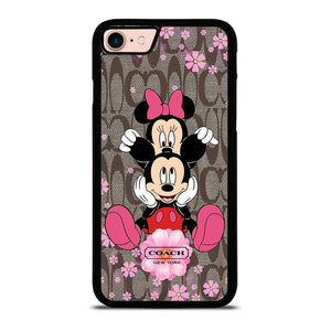 COACH MICKEY MINNIE Cover iPhone 8