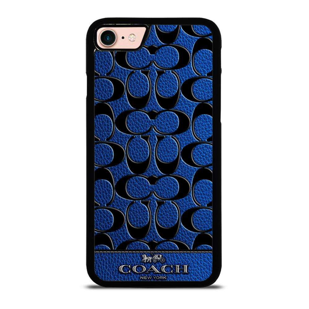 COACH NEW YORK BLUE Cover iPhone 8