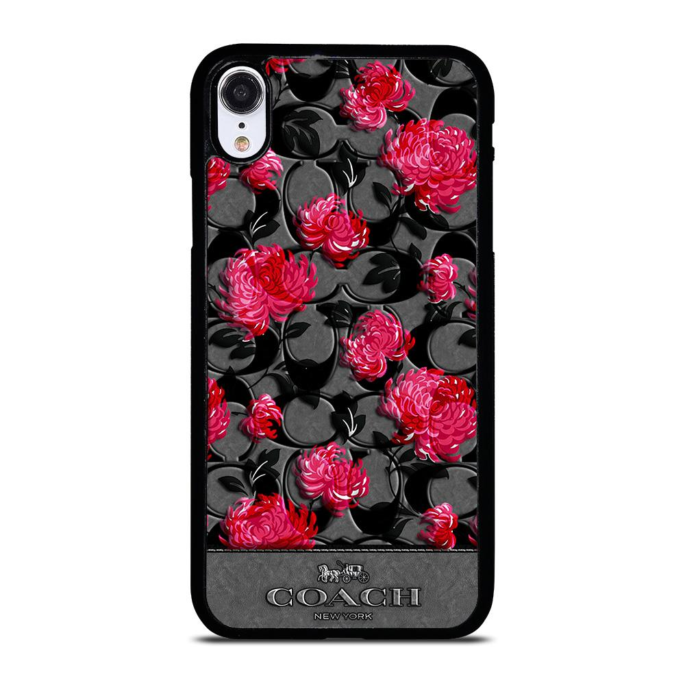 COACH NEW YORK FLOWER 3 Cover iPhone XR,flip cover iphone xr cellular line cover iphone xr,COACH NEW YORK FLOWER 3 Cover iPhone XR