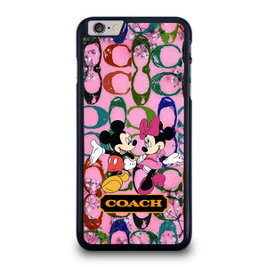 COACH PINK MICKEY MINNIE Cover iPhone 6 / 6S Plus