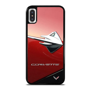 CORVETTE STINGRAY RED cover iPhone X / XS,cover iphone x marcelo cover iphone x lusso,CORVETTE STINGRAY RED cover iPhone X / XS