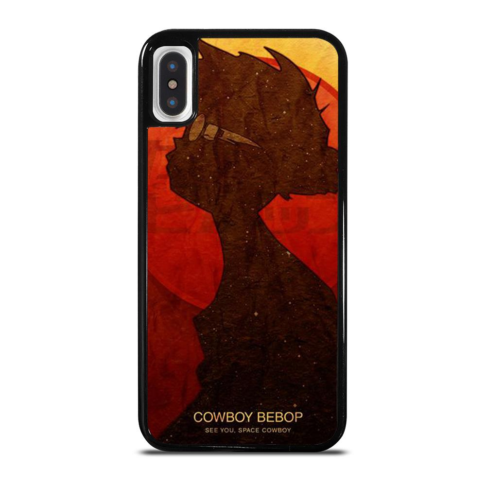 COWBOY BEBOP SILHOUETTE cover iPhone X / XS,omg cover iphone x cover iphone x pelose,COWBOY BEBOP SILHOUETTE cover iPhone X / XS