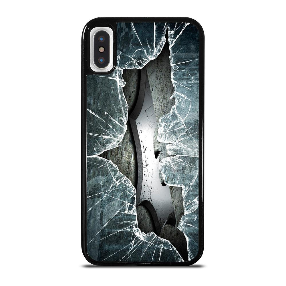 CRACKED OUT GLASS BATMAN THE DARK KNIGHT 2 cover iPhone X / XS,cover iphone x mercedes cover iphone x design,CRACKED OUT GLASS BATMAN THE DARK KNIGHT 2 cover iPhone X / XS