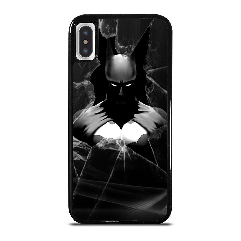 CRACKED OUT GLASS BATMAN THE DARK KNIGHT 3 cover iPhone X / XS,cover iphone x marcelo burlon lamborghini for iphone x cover iphone x pelose,CRACKED OUT GLASS BATMAN THE DARK KNIGHT 3 cover iPhone X / XS