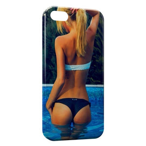 Custodia Cover iPhone 8 & 8 Plus Sexy Girl Piscine