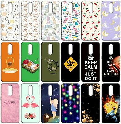 Custodia cover back case in TPU morbida per XIAOMI REDMI NOTE 5 fantasia N6