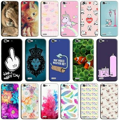 CUSTODIA COVER MORBIDA IN TPU PER HUAWEI ASCEND P8 LITE SMART FANTASIA ZC