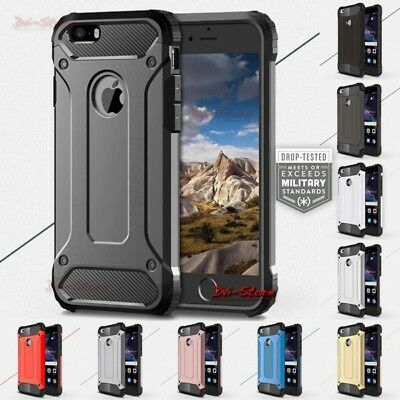 Custodia Cover Rugged Armor case anti URTO CANTIERE per HUAWEI Y7 2019
