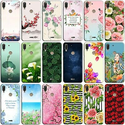 Custodia cover back case in TPU morbida per HUAWEI MATE 10 LITE fantasia N5