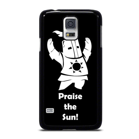 coque custodia cover fundas hoesjes j3 J5 J6 s20 s10 s9 s8 s7 s6 s5 plus edge D20298 DARK SOULS PRAISE THE SUNS Samsung Galaxy S5 Case