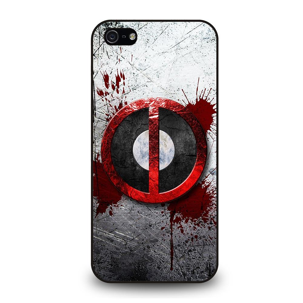 DEADPOOL RESOLUTION BLOOD MARVEL Cover iPhone 5 / 5S / SE - benecover