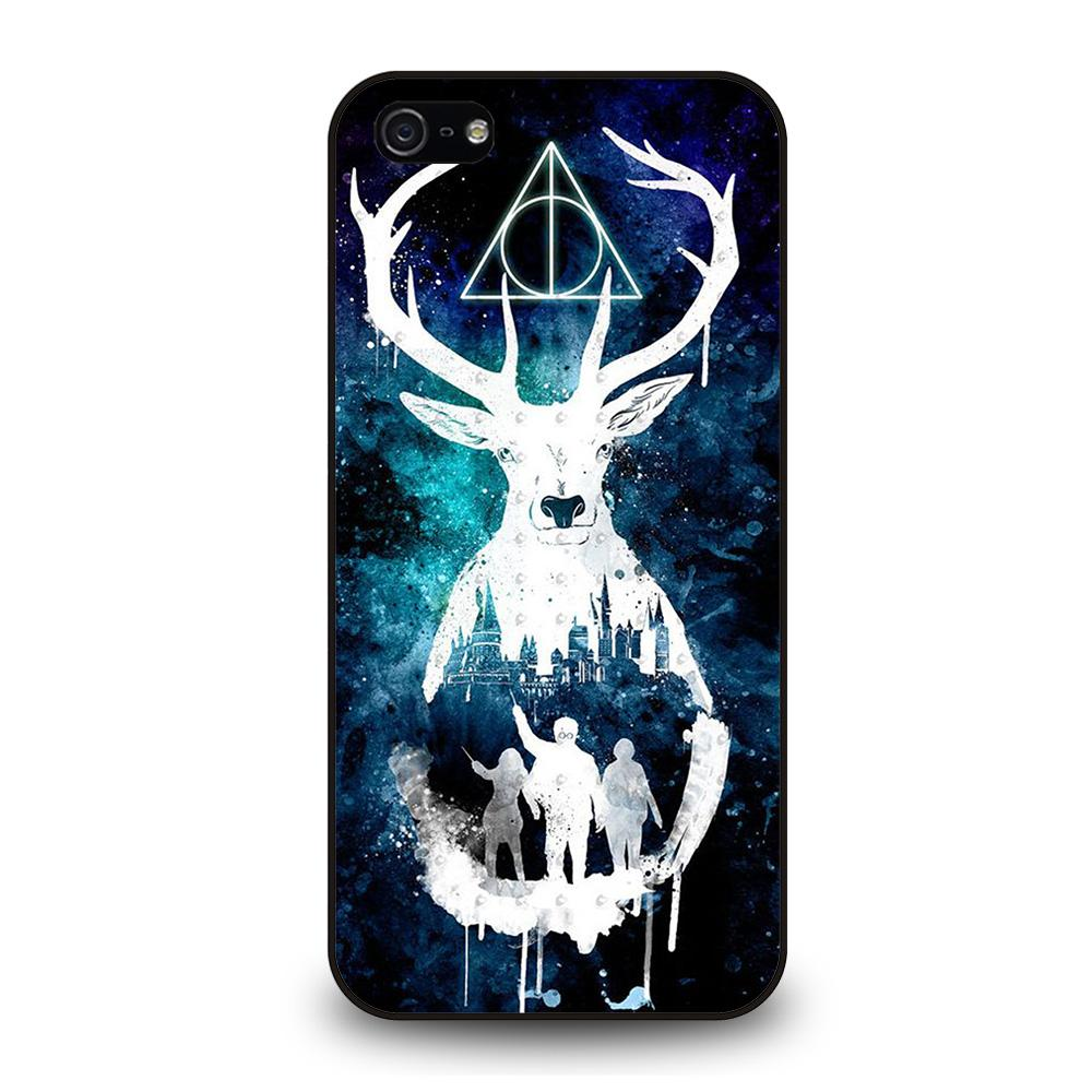DEATHLY HALLOWS HARRY POTTER AQUARELL Cover iPhone 5 / 5S / SE