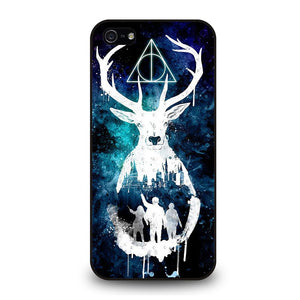 DEATHLY HALLOWS HARRY POTTER AQUARELL Cover iPhone 5 / 5S / SE - Negozio di custodie per Iphone|samsung|huawei custodia4cover.it