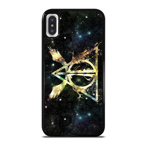 DEATHLY HALLOWS HARRY POTTER ICON cover iPhone X / XS,cover iphone x dsquared supreme cover iphone x,DEATHLY HALLOWS HARRY POTTER ICON cover iPhone X / XS
